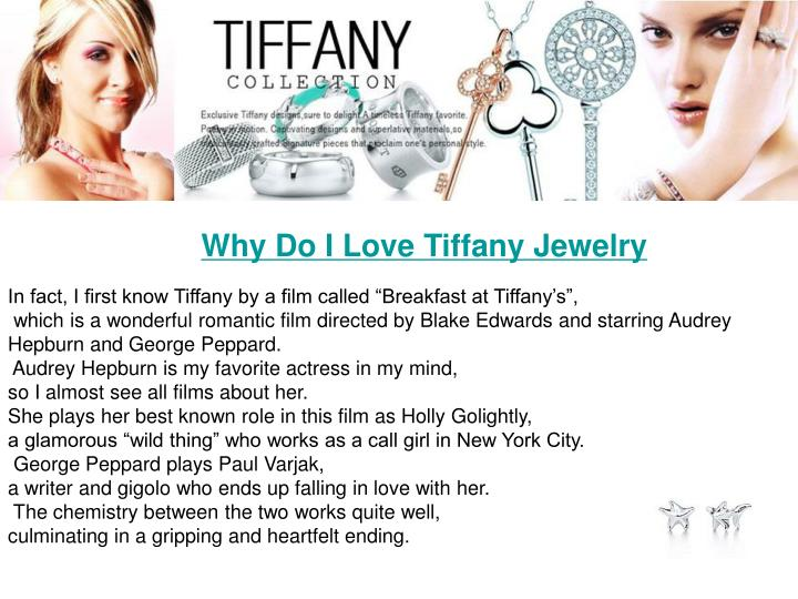 Why Do I Love Tiffany Jewelry