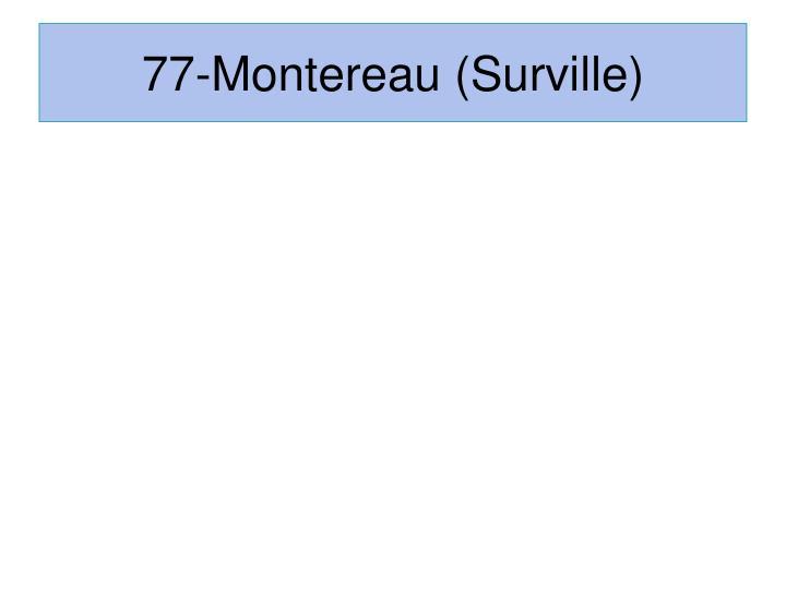 77-Montereau (Surville)