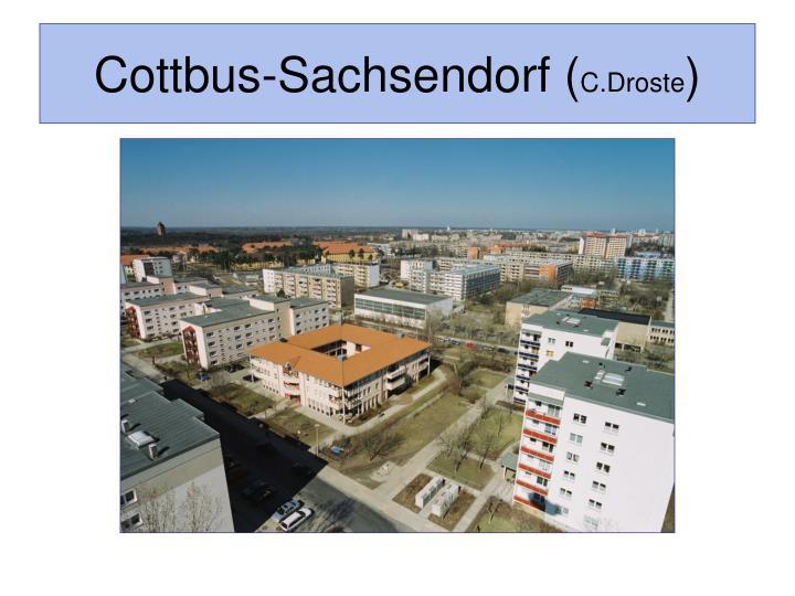 Cottbus-Sachsendorf (