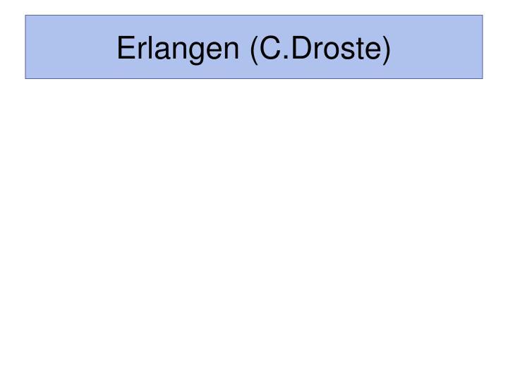 Erlangen (C.Droste)