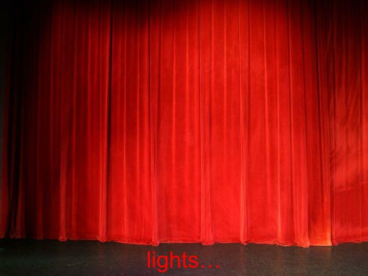 lights…