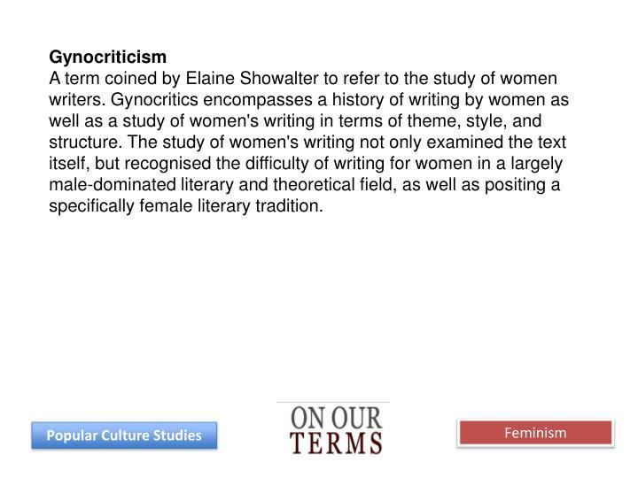 Gynocriticism
