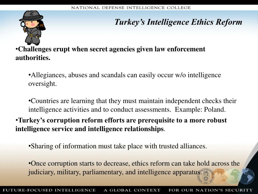 Turkey's Intelligence Ethics Reform