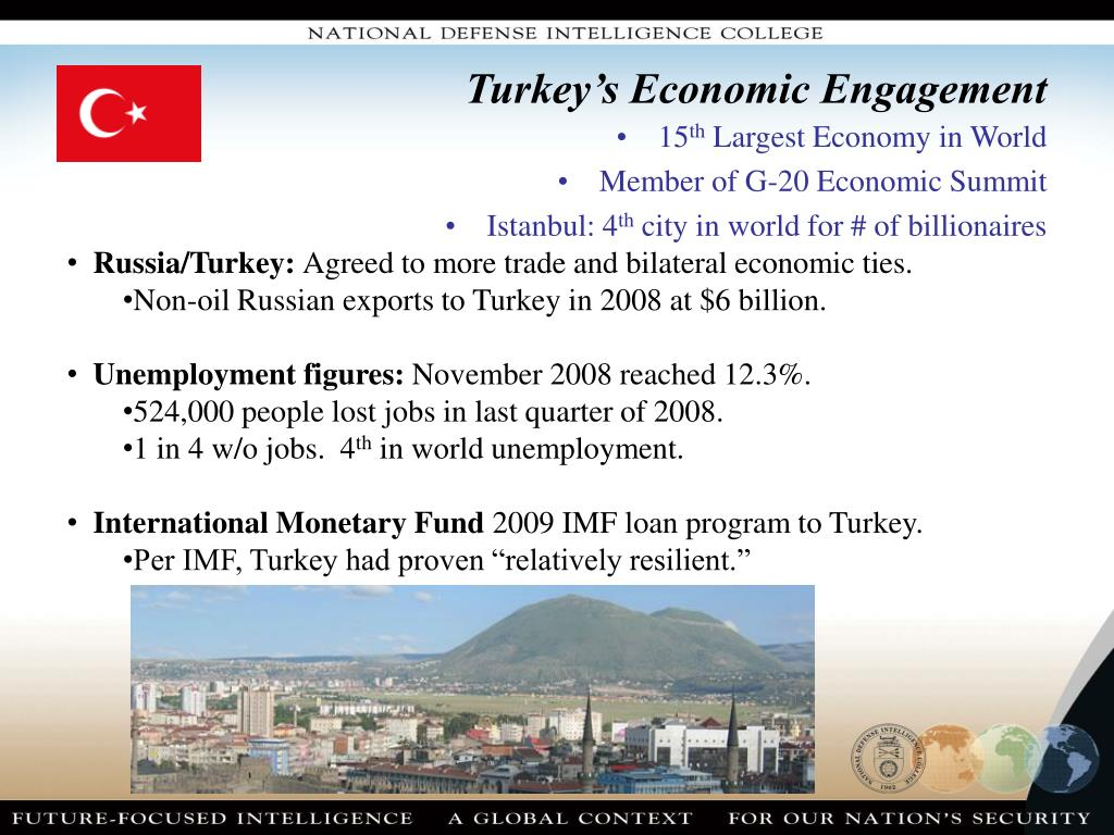 Turkey's Economic Engagement
