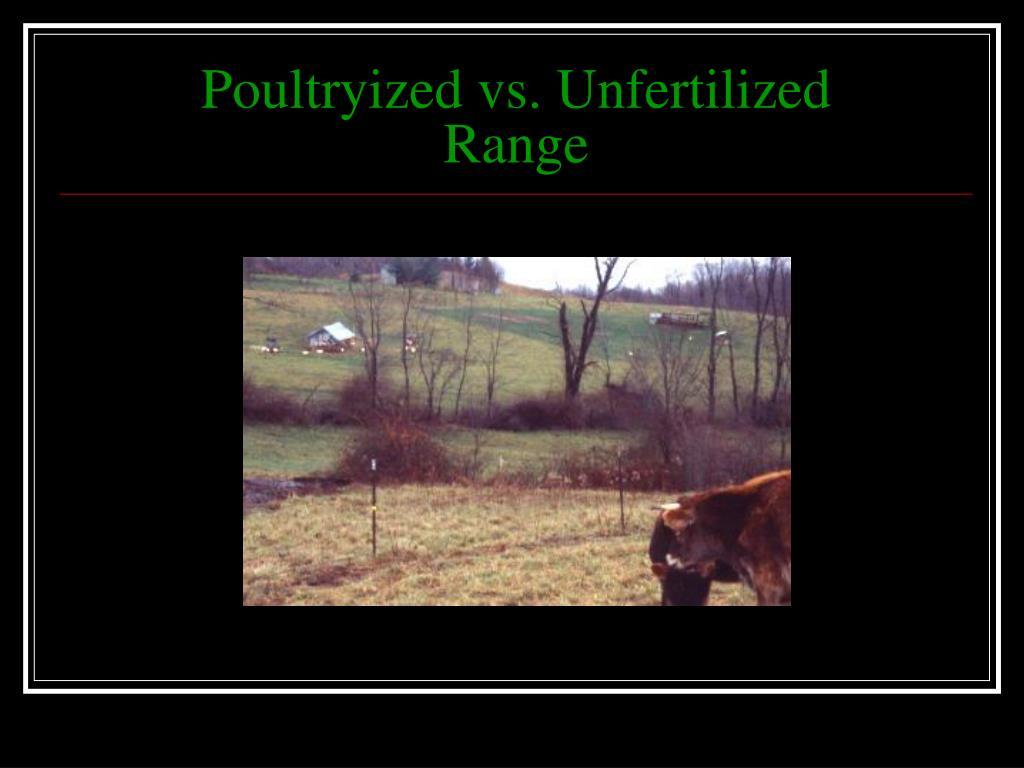 Poultryized vs. Unfertilized