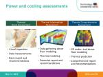 power and cooling assessments