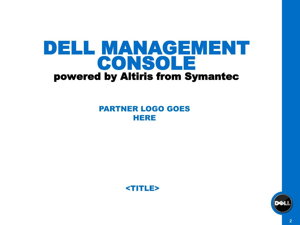 DELL MANAGEMENT