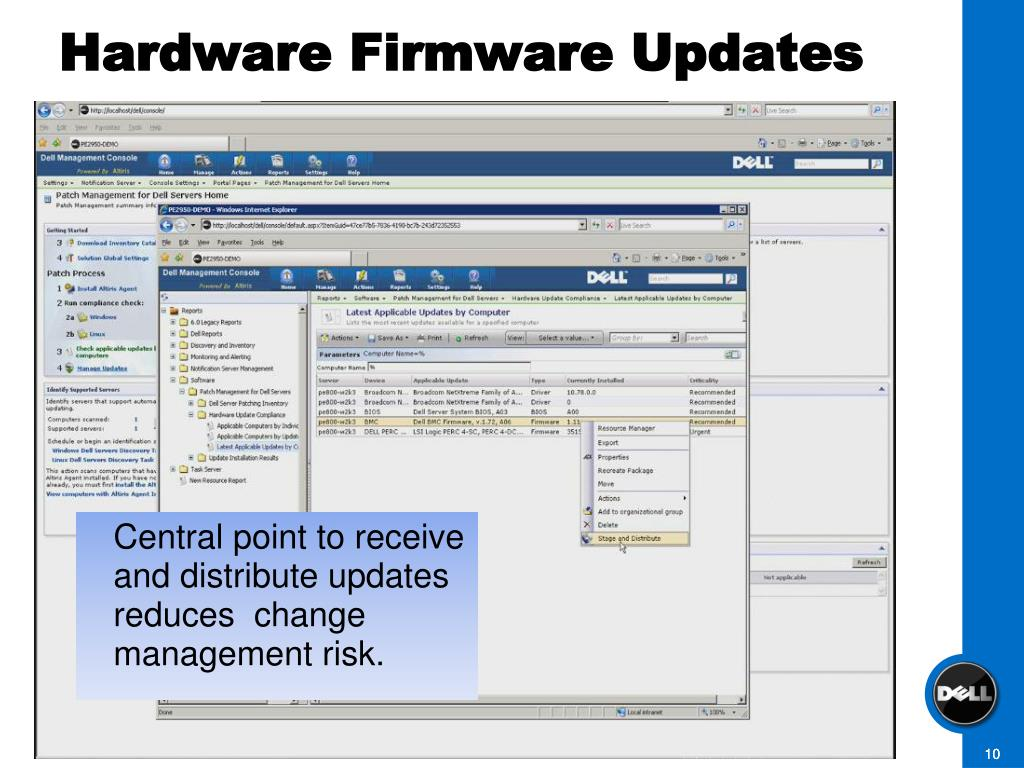 Hardware Firmware Updates
