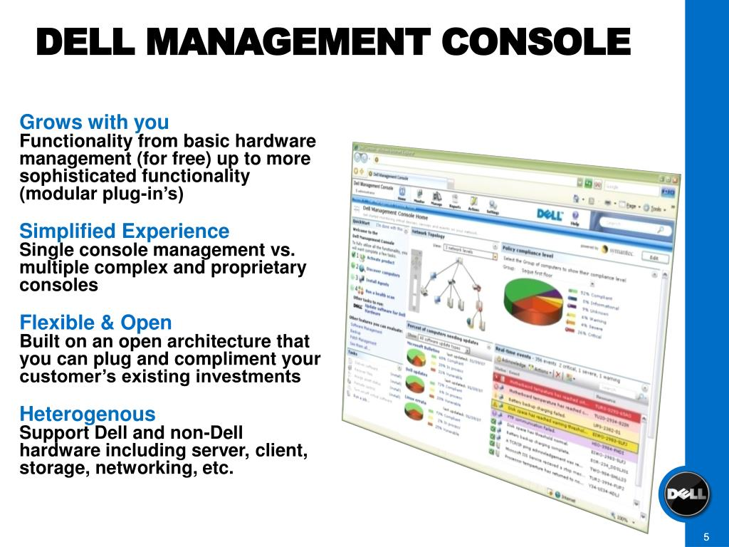 DELL MANAGEMENT CONSOLE