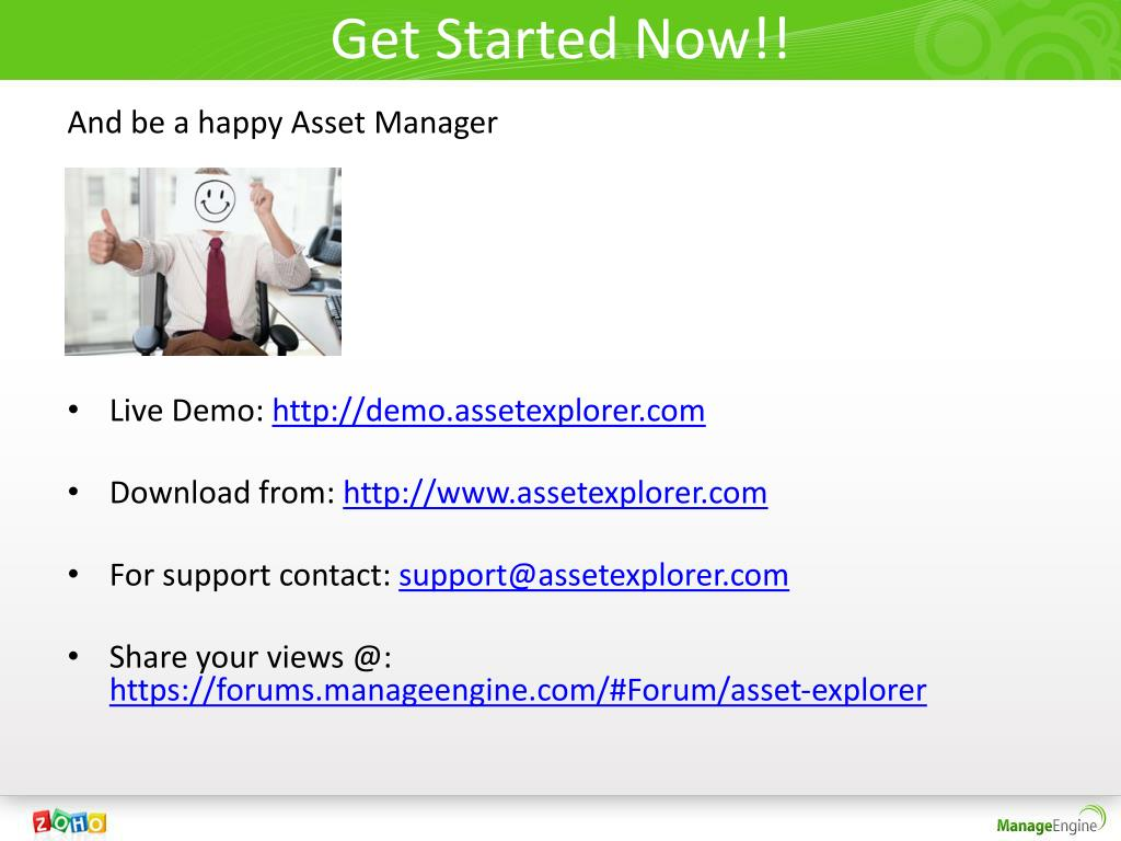 Get Started Now!!