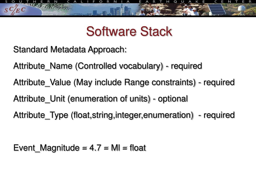 Software Stack
