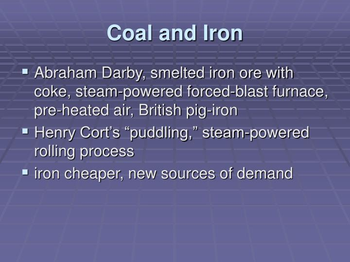 Coal and Iron