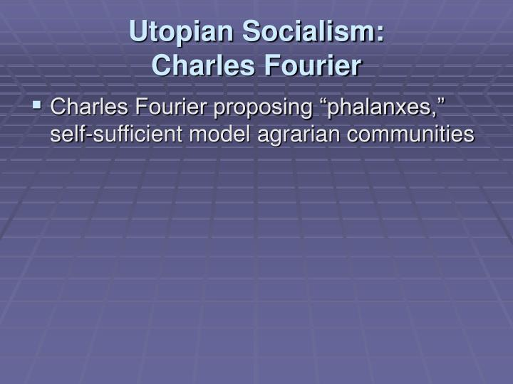 Utopian Socialism:
