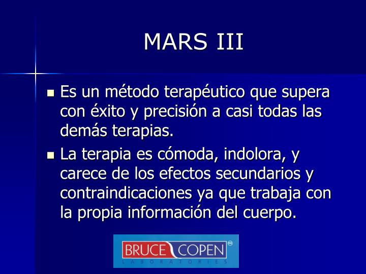 MARS III