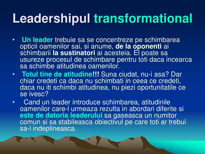 Leadershipul