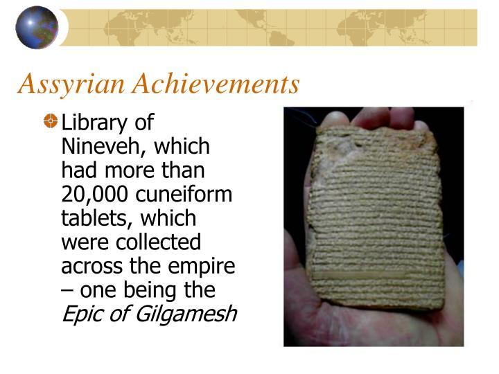 Assyrian Achievements