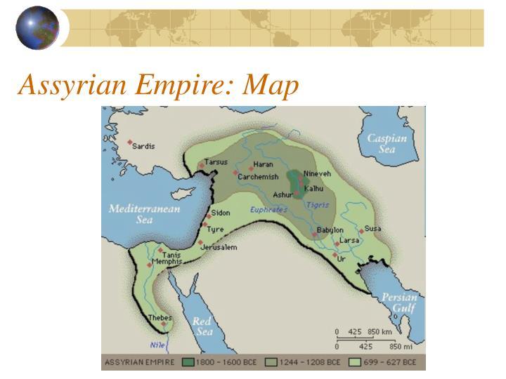 Assyrian Empire: Map