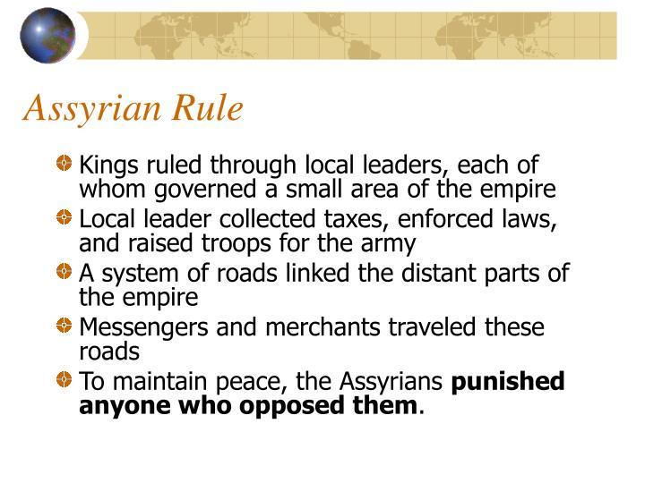 Assyrian Rule