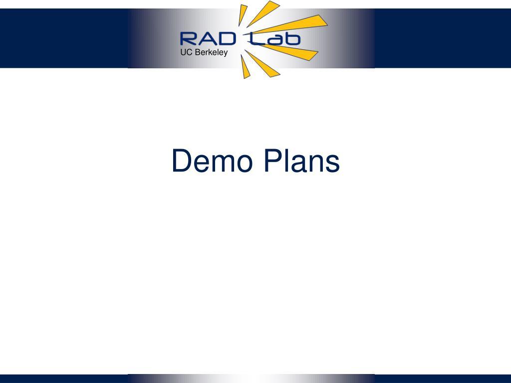 Demo Plans