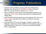 progress publications