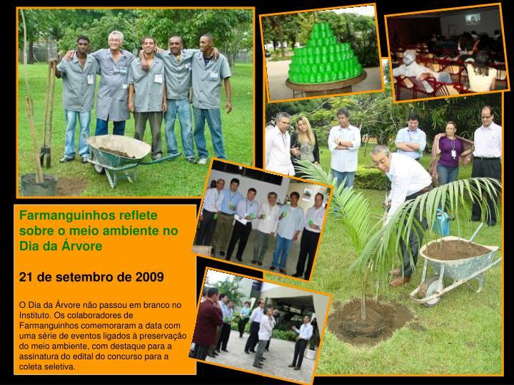 Farmanguinhos reflete sobre o meio ambiente no Dia da Árvore