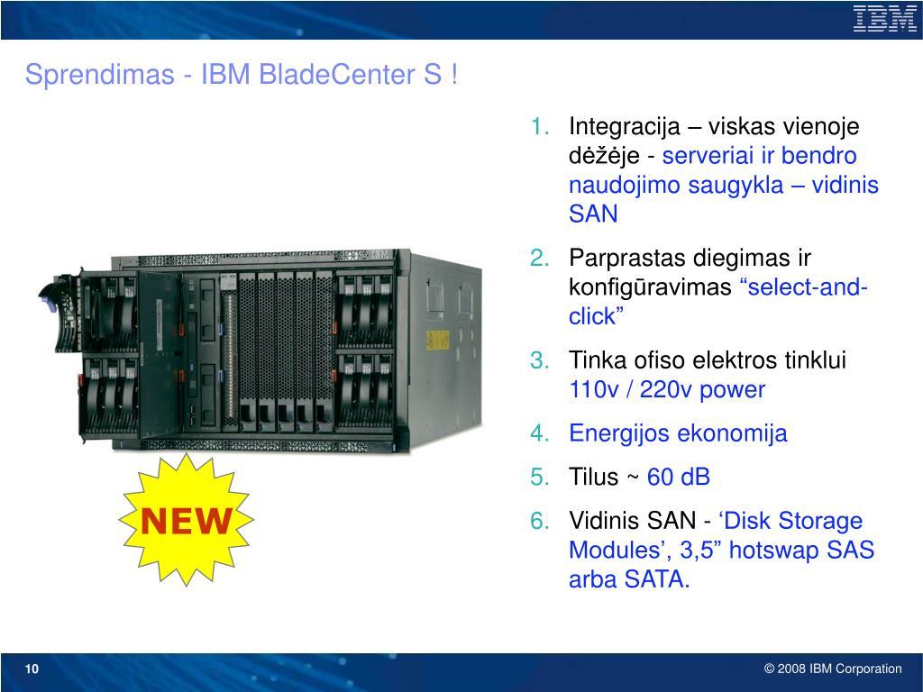 Sprendimas - IBM