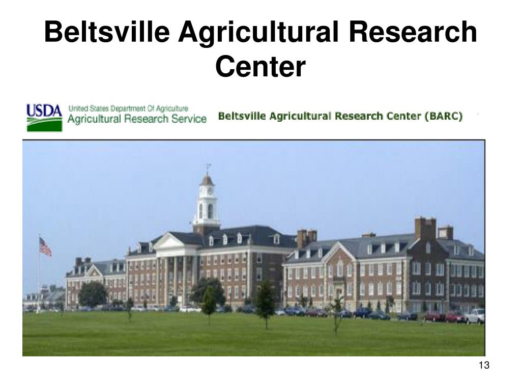 Beltsville Agricultural Research Center