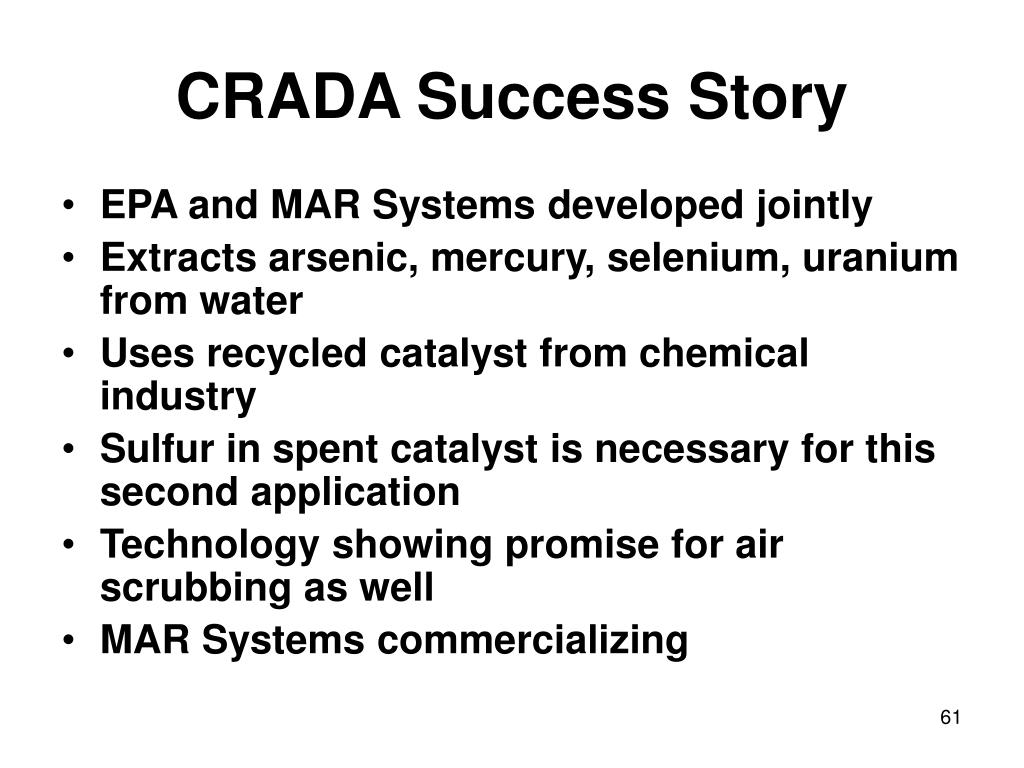 CRADA Success Story