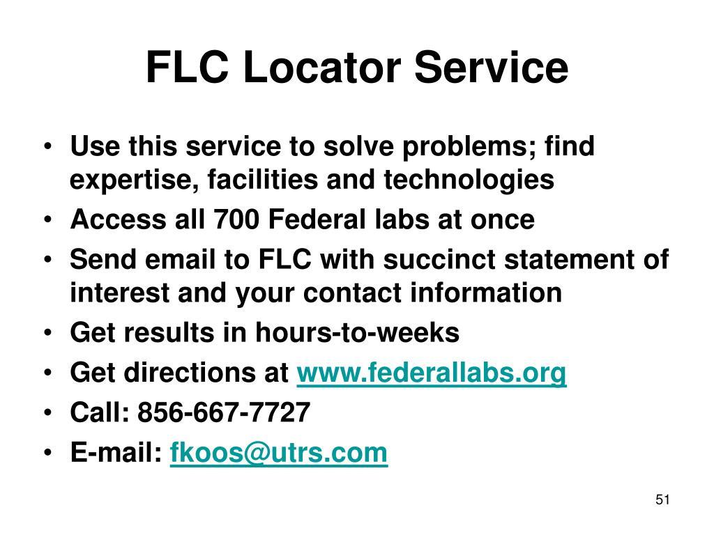 FLC Locator Service