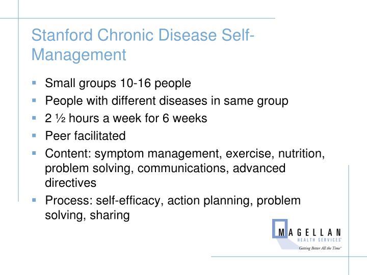 Stanford Chronic Disease Self-Management