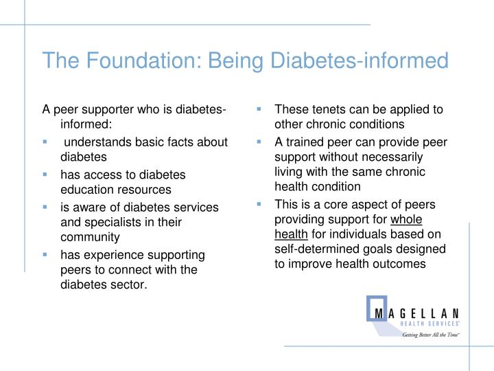 The Foundation: Being Diabetes-informed