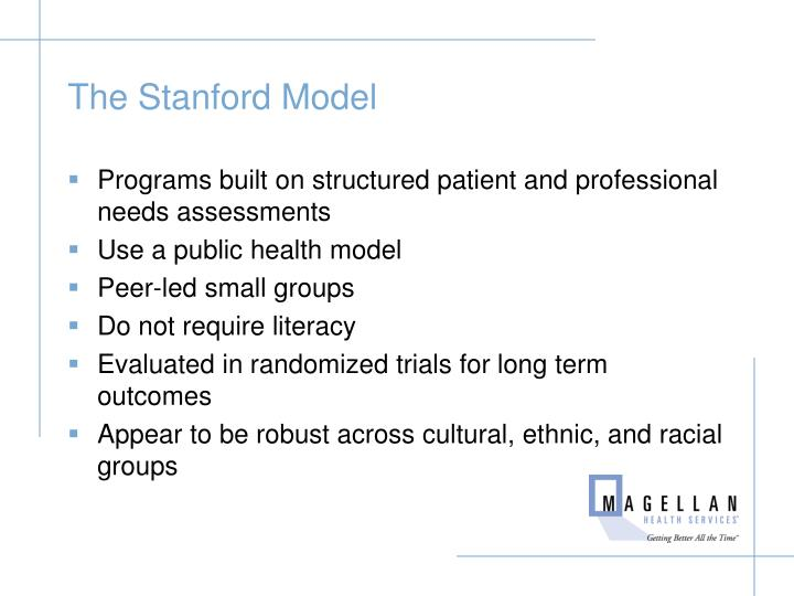 The Stanford Model