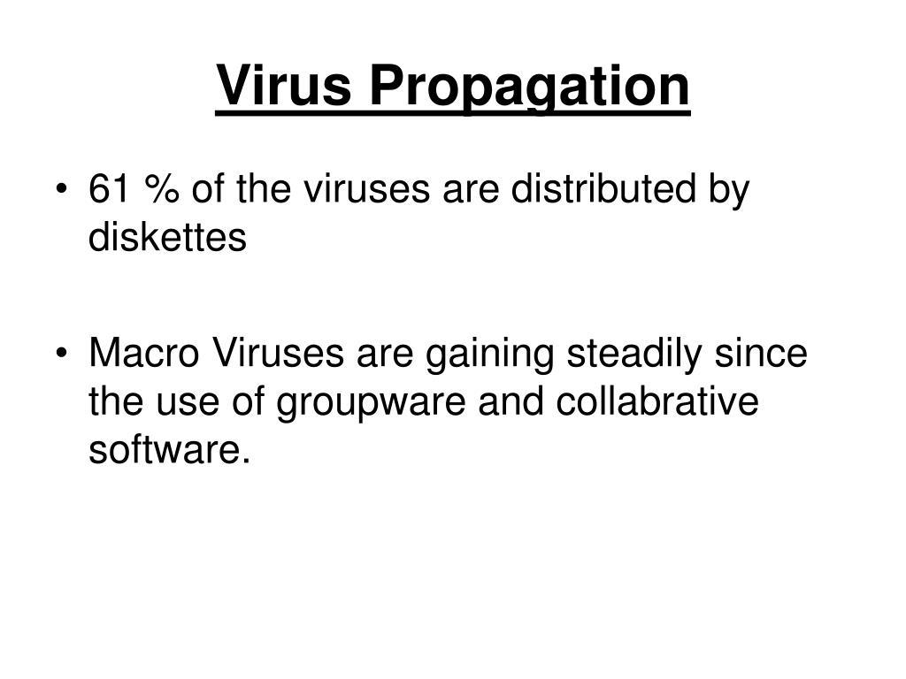 Virus Propagation