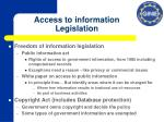 access to information legislation