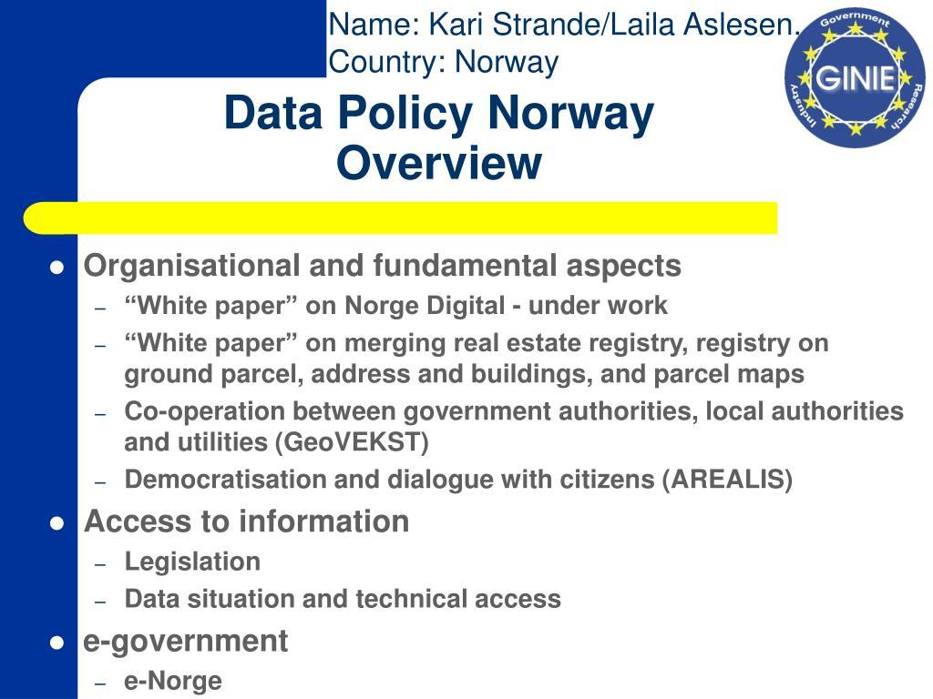 Name: Kari Strande/Laila Aslesen.