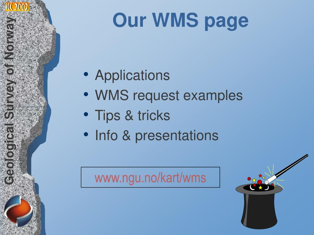 Our WMS page