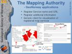 the mapping authority geonorway applications