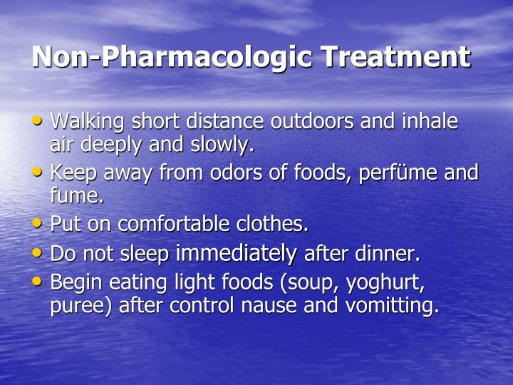 Non-Pharmacologic Treatment
