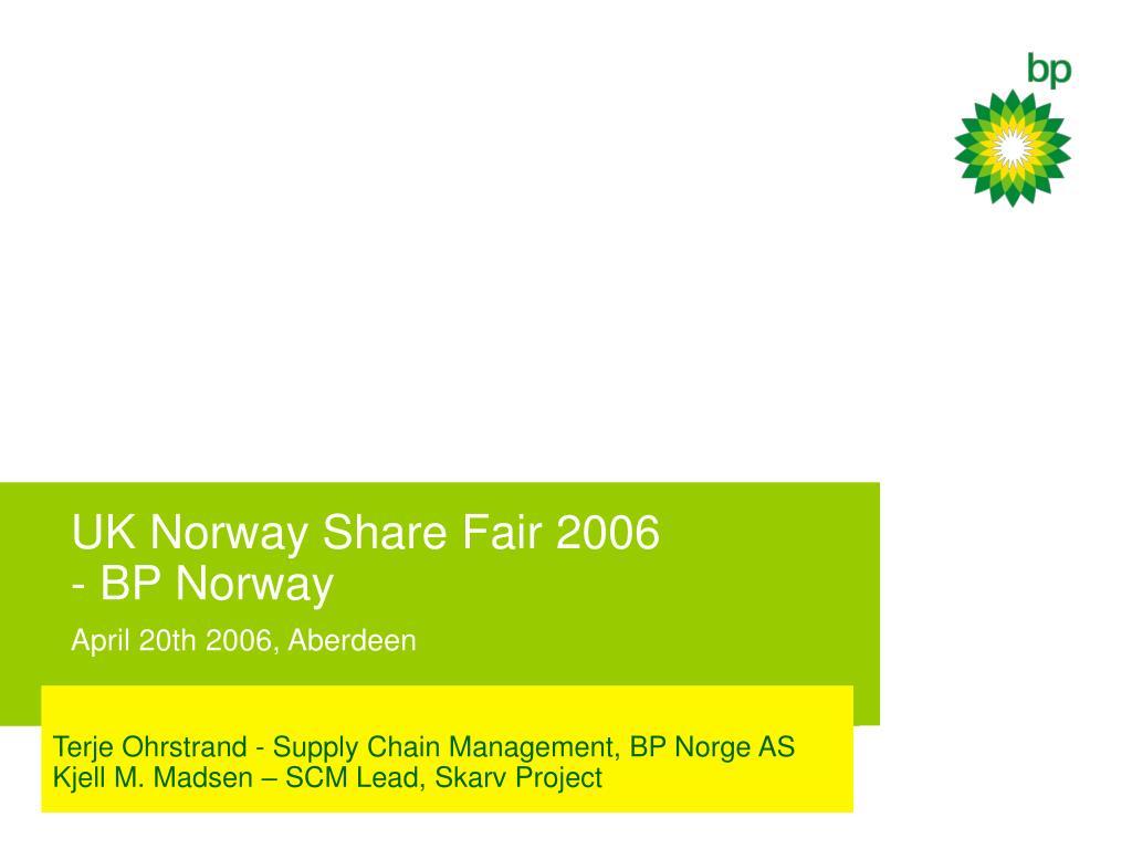 UK Norway Share Fair 2006