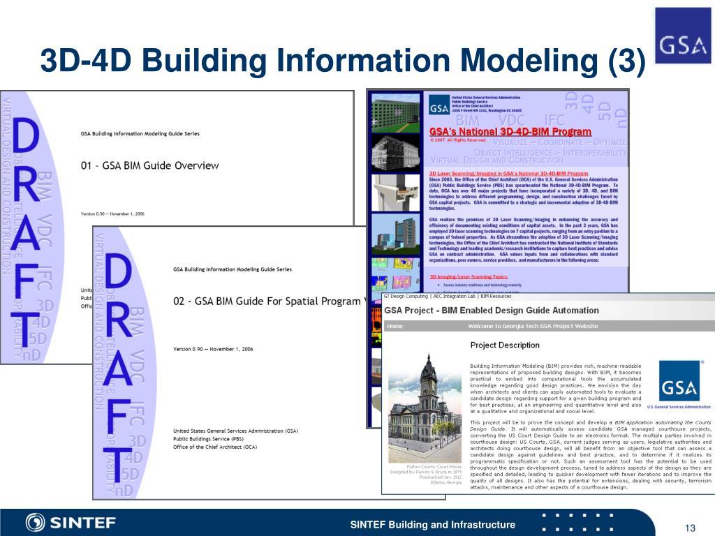 3D-4D Building Information Modeling (3)