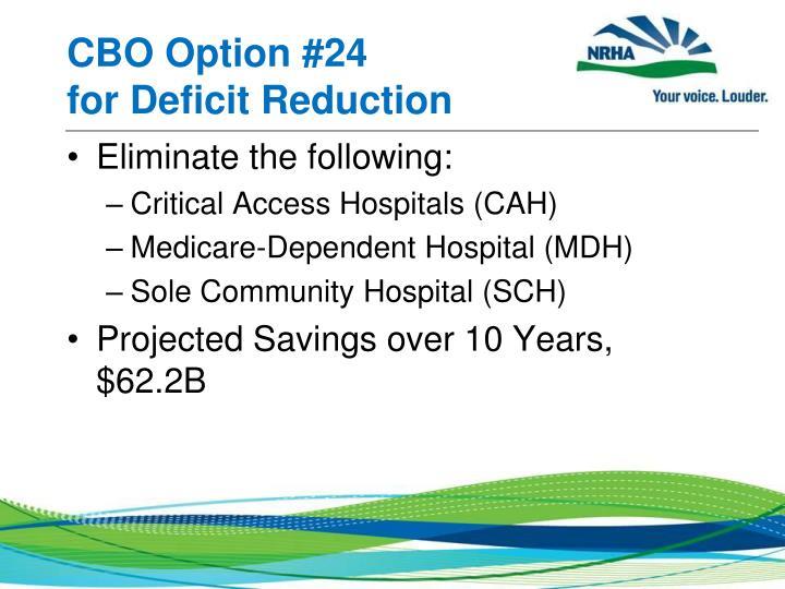 CBO Option #24
