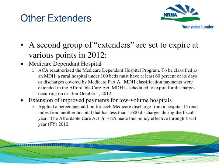 Other Extenders