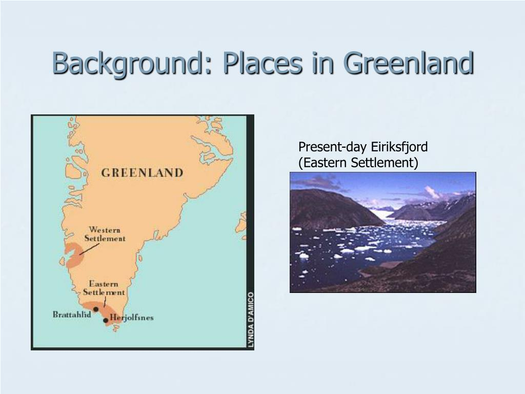 Background: Places in Greenland