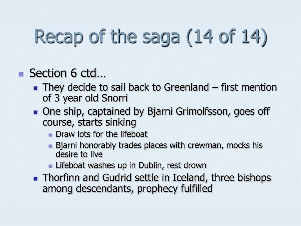 Recap of the saga (14 of 14)