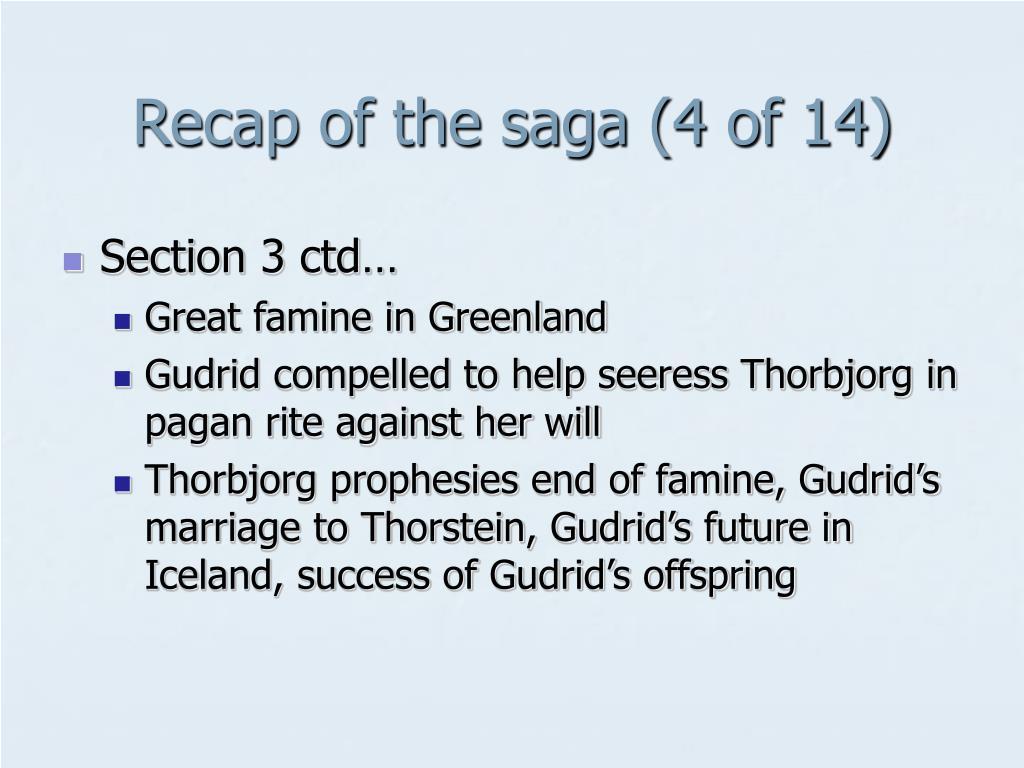 Recap of the saga (4 of 14)