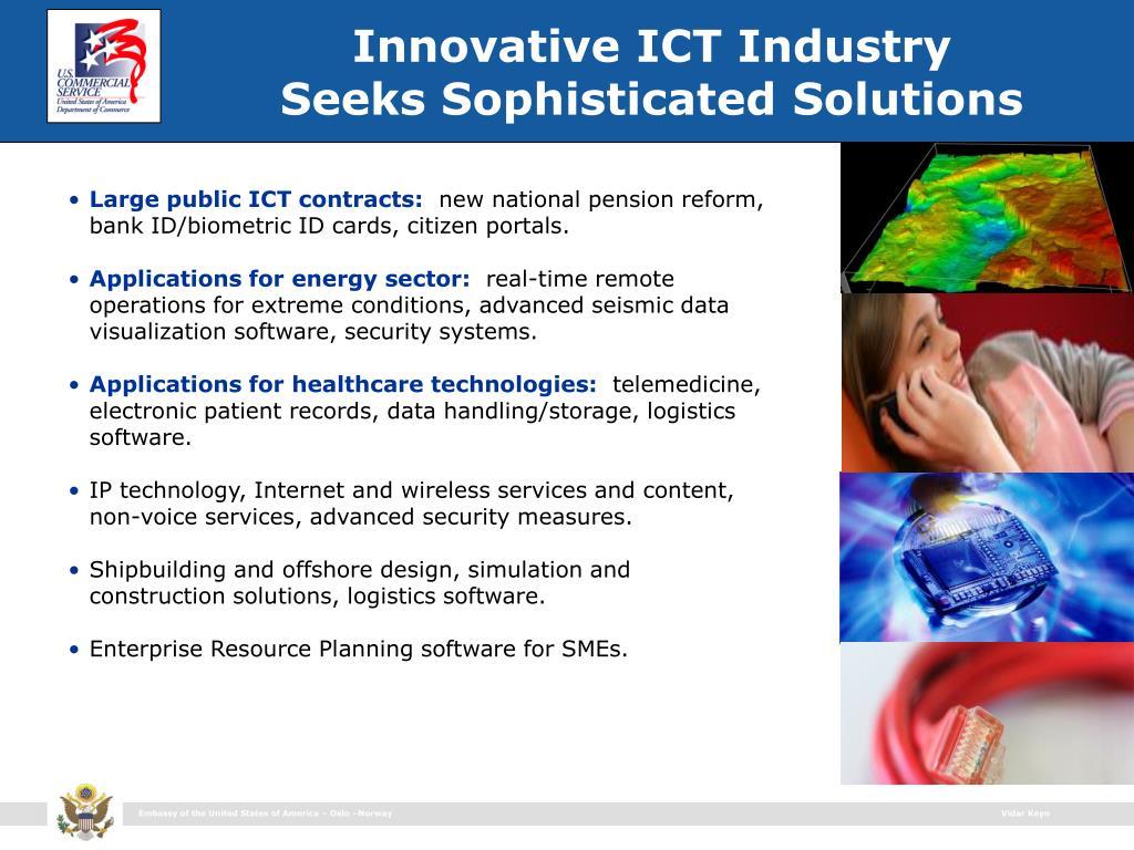Innovative ICT Industry