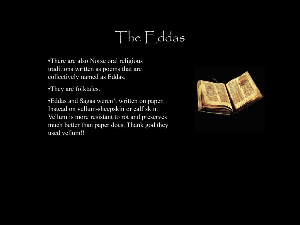 The Eddas