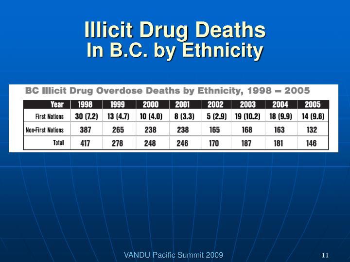Illicit Drug Deaths