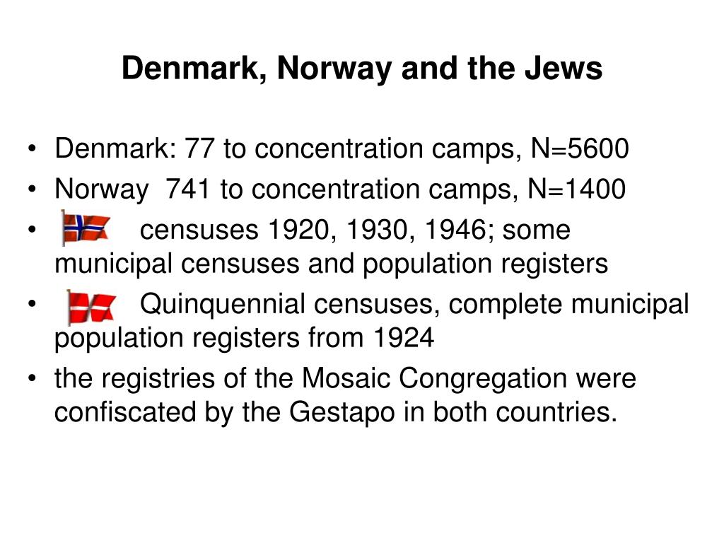 Denmark, Norway and the Jews