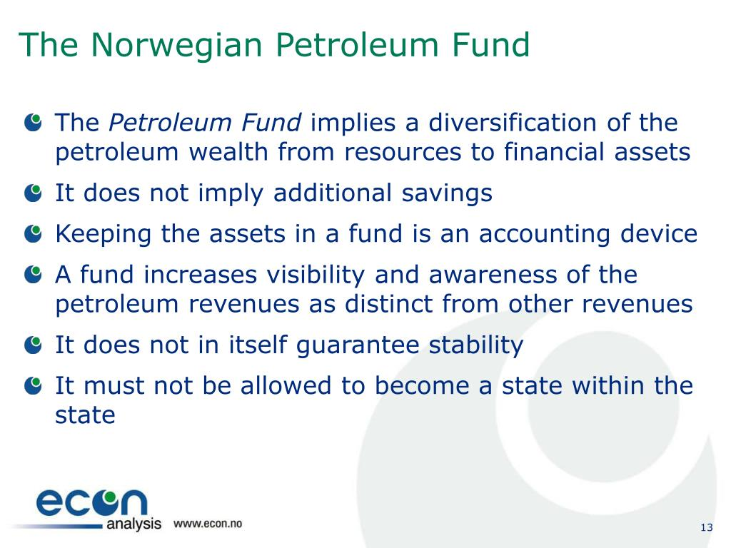 The Norwegian Petroleum Fund